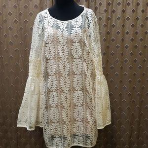 Michael Kors Crochet Top